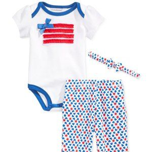 Patriotic Baby Outfit for Girls America Theme